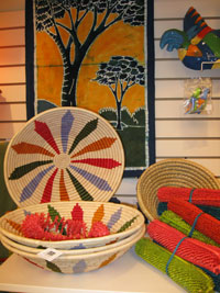 Ten Thousand Villages handcrafted works