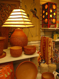 Handcrafted items from Ten Thousand Villages